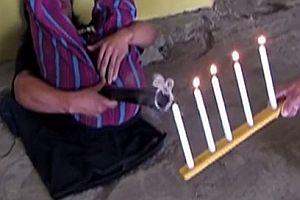 Kerzen ausfurzen