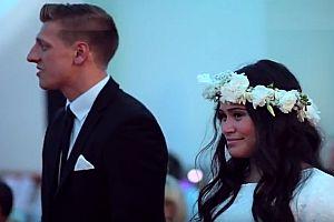 Haka-Tanz auf einer Hochzeit