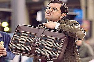 Original Koffer von Mr. Bean