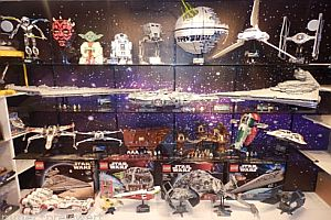 Komplette Lego UCS Star Wars Sammlung
