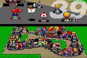 Super Mario Kart mit 101 Spielern