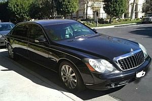 Maybach von Charlie Sheen