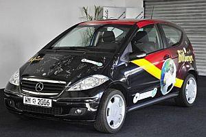 signierter WM-Mercedes