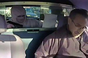 Taxiüberfall vor der Polizei