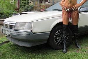 Autoverkauf mit Modelunterstützung