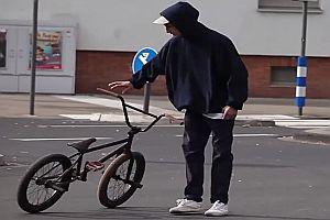 BMX Street mit Louis Zimmer