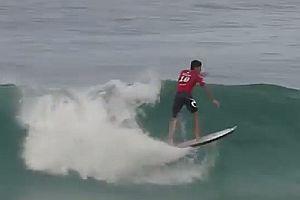 Surfer mit 360° Flip