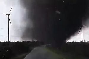 Tornado in Schleswig