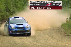 Sieg trotz Unfall bei Rallye