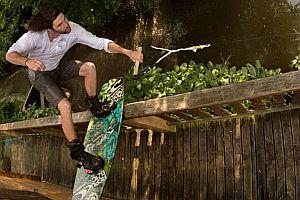 Wakeboarding in Paris