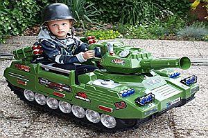 Ein Panzer für Kinder