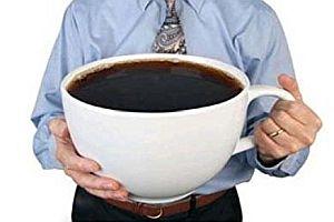 Die größte Tasse der Welt