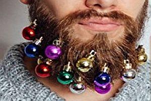 Weihnachtskugeln für den Bart