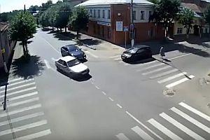 Eine unsichere Kreuzung