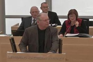 AfD-Abgeordneter überzieht Redezeit