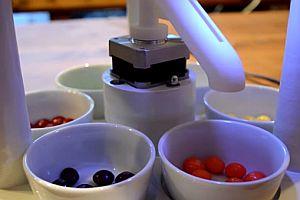Süßigkeitensortiermaschine