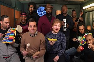 Shape of You mit Jimmy Fallon