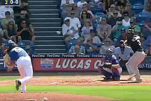 Baseballschläger fangen wie ein Boss