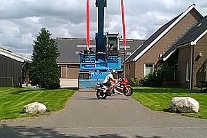 Motorrad-Schaukel