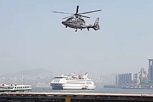 Hubschrauber ohne Rotation