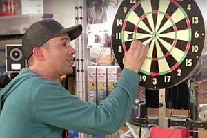 Automatic Dart Bullseye