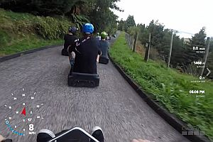 Skyline Rotorua Luge Track Seifenkistenrennen