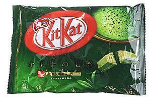 KitKat mit Grüner Tee-Geschmack