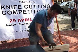 Messer-Wettbewerb in Thailand