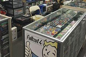 Riesige Videospiel-Sammlung