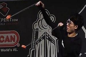 Zwei Jo-Jos beim World Yoyo Contest 2017