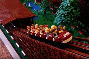 Lego Holzachterbahn