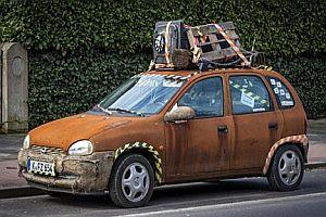 """Auto """"Rosti"""" wird verkauft"""