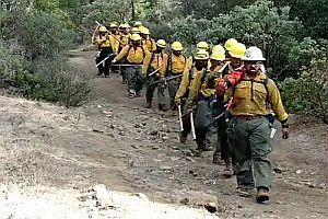 Gesang samoanischer Feuerwehrmänner