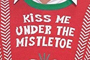 Geschmackloser Weihnachtspullover