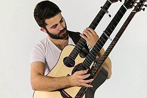 Dreifache Gitarre