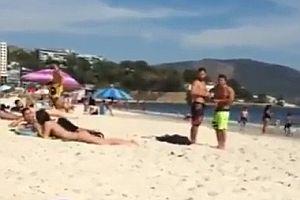 Anmache am Strand