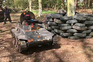 Paintball-Panzer