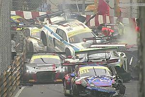 Massencrash beim GT World Cup in Macau