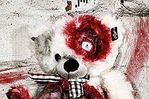 Zombie-Teddy XXL