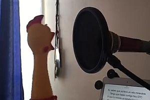 Ein Gummihuhn singt Despacito