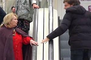 Liebe auf der Rolltreppe