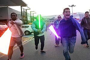 Star Wars im Einkaufszentrum