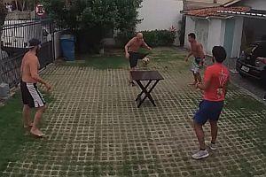Echter Tischfußball