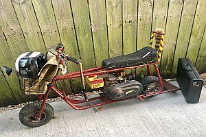 Minibike aus dem Film Dumm und Dümmer