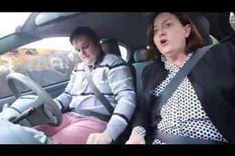 Fahrstunden mit den Eltern