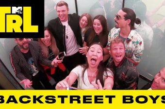 Backstreet Boys überraschen Fans im Fahrstuhl