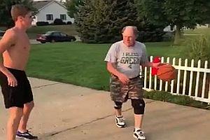 Opas Basketballtrick