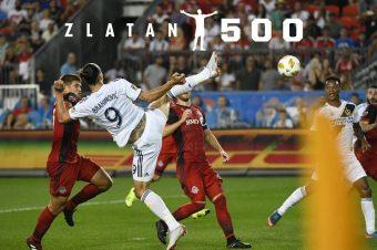 500. Profitor von Zlatan Ibrahimovic
