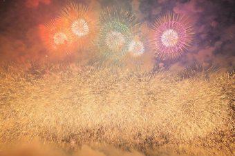 Gigantisches Feuerwerk in Japan