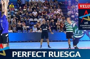 Handballtor in der Nachspielzeit